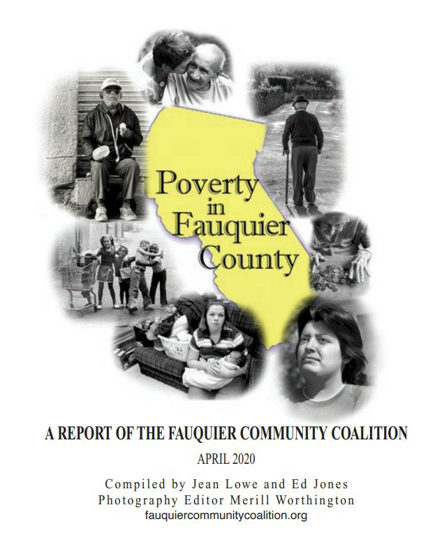 Fauquier Community Coalition, The Poverty Project, Poverty in Fauquier County, 2020 book cover
