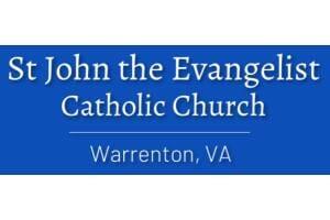 ST. JOHN THE EVANGELIST CATHOLIC CHURCH Logo