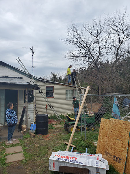 Fauquier Community Coalition, Critical Home Repair Projects, Group of People Fixing Roof